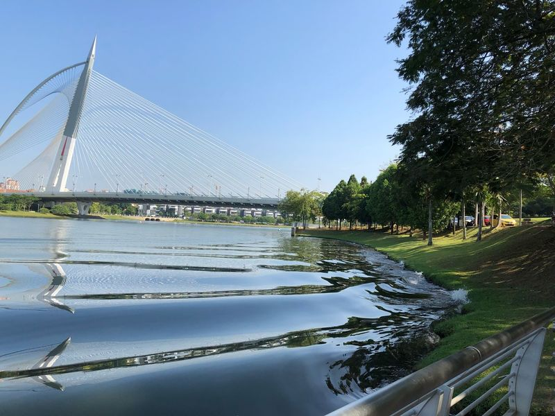 Water Sky Outdoors River Bridge - Man Made Structure Tree Clear Sky