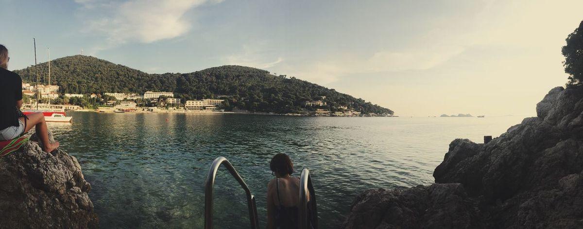 Dubrovnik Croatia 🇭🇷 Dubrovnik Dubrovnik, Croatia Dubrovnik - Croatia❤ Adriatic Sea Sea Croatia Beauty In Nature Real People Water EyeEm Best Shots The Great Outdoors - 2017 EyeEm Awards EyeEm Gallery EyeEmNewHere Eye Em Nature Lover Nature