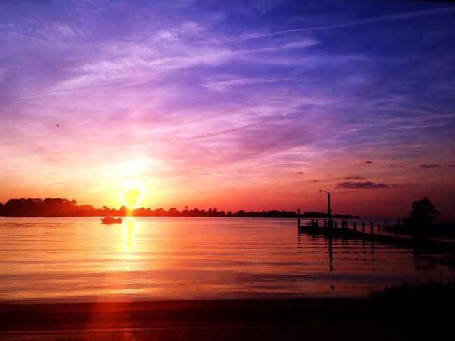 Beach Harbor with the best sunsets.