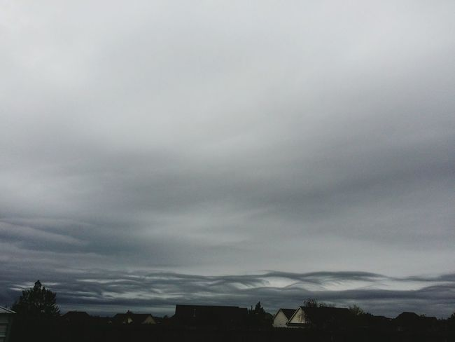 Wave clouds after cold front pushed through over night!!