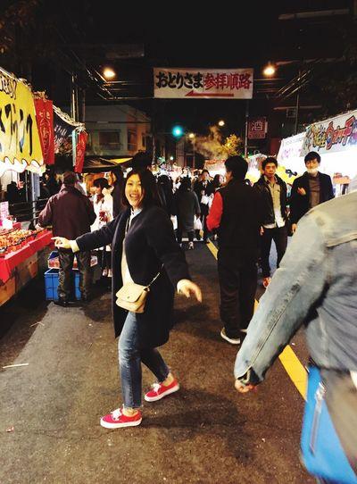 酉の市 Night City Market Adults Only Festival Friends Happy Yammy!!