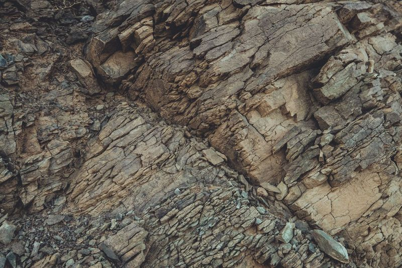 Full frame shot of cave