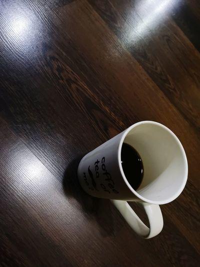 The thing make me awake all nigth at work. Coffee #blackcoffee Cofeeaholic Coffeeaddict Coffee Drink Tea - Hot Drink Table High Angle View Coffee - Drink Close-up Food And Drink Black Tea Hot Drink Black Coffee
