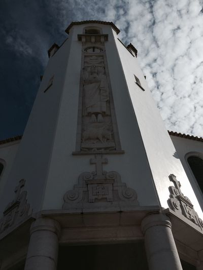 Church Streetphotography Walking Around Sky Churches Churchtower Momentos Clouds And Sky Sky And Clouds Portugal