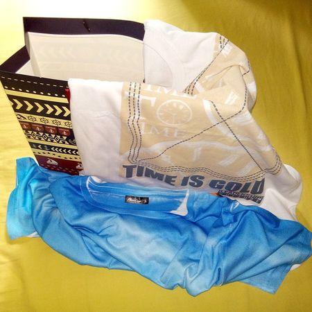 Presents. Thank You Ms.Aloha. 13Feb Gifts Presents Tshirts Valentinesday latepost