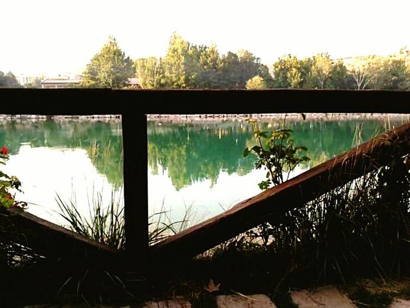 Turgut Özal tabiat parkından... Lake Nature Publicgarden