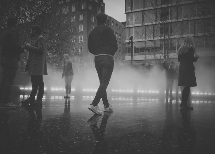 F U J I K O N A K A Y A - Fog installation at the Tate Modern in London Building Exterior Day Fog Fog Sculpture Foggy Foggy Morning Leisure Activity Motion Outdoors People People Fog Foggy Fest Real People Silhouette Silhouettes Water Wet Women The Street Photographer - 2017 EyeEm Awards
