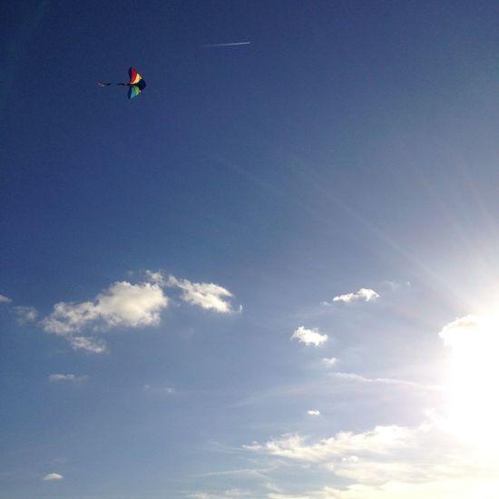 Life Kite Sunnyday Tempelhof Berlin Indiansummer Beauty