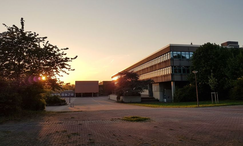 "Similar to ""The Breakfast Club"" Movie School Middle School High School Hattingen Sunset"