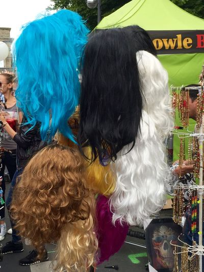 CSD CSD Berlin 2015 Being Queer Smile ✌ Fashion Wigs Enjoying Life Walking Around Taking Photos Berlin Queer
