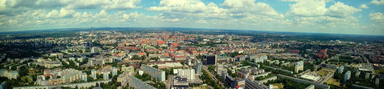 #wroclaw #wroclove #viewfromtheskytower Architecture Building Exterior City Cityscape Skyscraper Travel Destinations