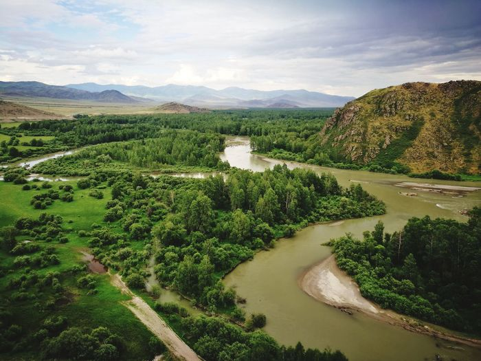 река Бухтарма Kazakhstan Nature Beauty In Nature Weekend Activities Hiking Hikingadventures Activity Day Activity EyeEm Selects Irrigation Equipment Tree Water Rural Scene Agriculture Cereal Plant Field Crop  Sky Landscape