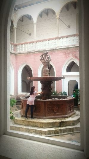 Only Women Happiness ♡ Happy Fountain Girl Fortune