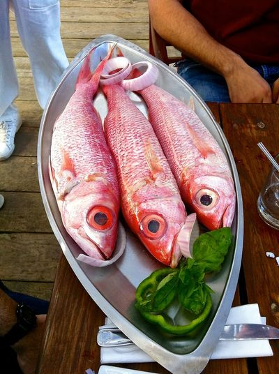 Boca Chica Chillo Delicious Dinner Dominican Republic Beaches Fish Food Food And Drink Food And Drink Freshness Ocean Pink Platter PlatterOnTable Restaurant Seafood Travel