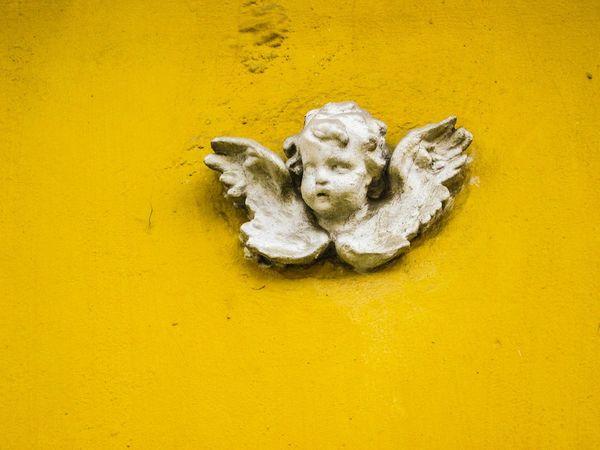 Szentendre Angel Putto Architectural Detail Yellow EyeEm Gallery