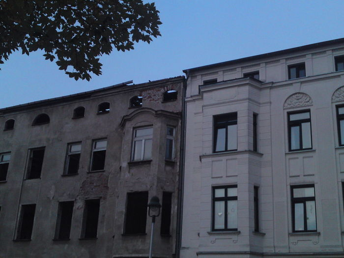 Abandoned Architecture Building Exterior Built Structure Clear Sky Day Kontrast No People Outdoors Sky Window