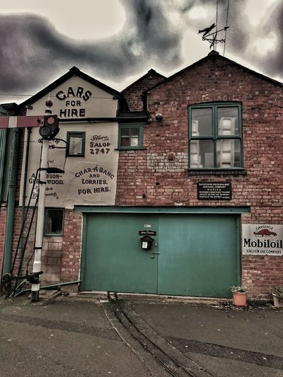 Architecture Text Built Structure Building Exterior Communication Olden Days Oldendaystyle Advertising Shrewsbury Back Street Art Rail Lines Doors Brick Wall
