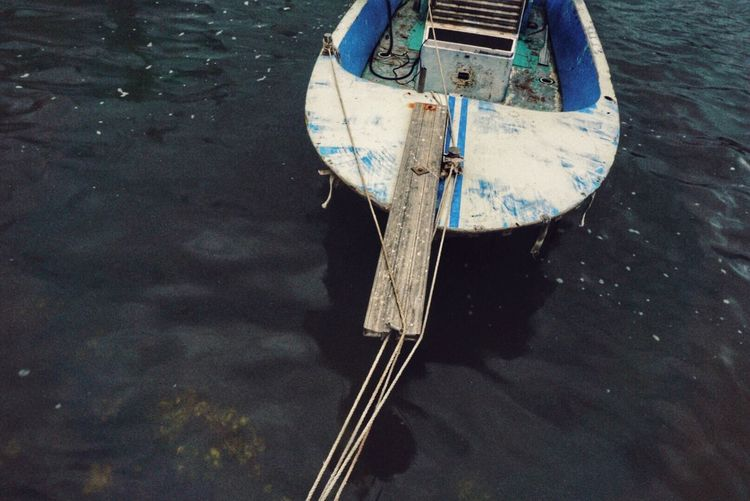 Transportation Nautical Vessel Mode Of Transport Water Boat Reflection Waterfront Day Outdoors Damaged Harbor Obsolete No People Sea Tranquility