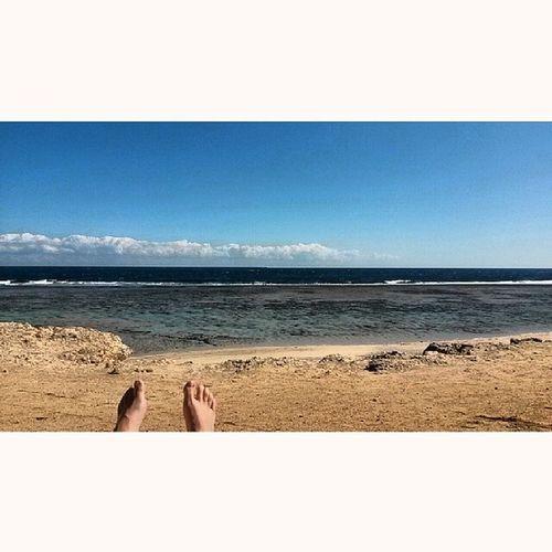 einfach mal die Seele baumeln lassen ... Egypt  ägypten Marsaalam Threecorners sea beach redsea sun relax