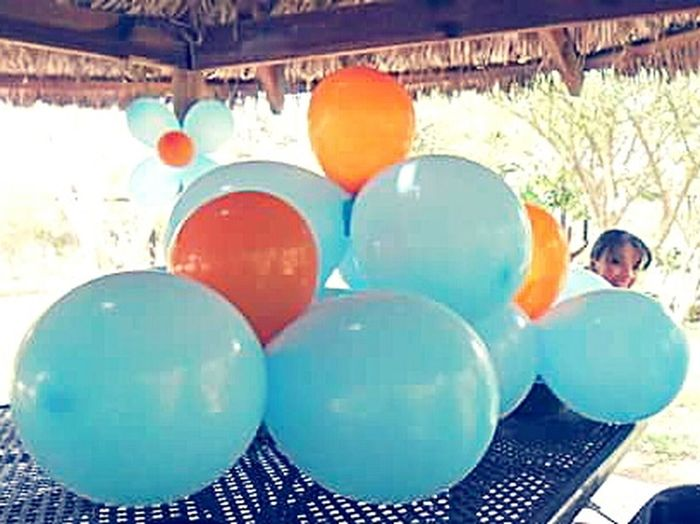 Pastel Power Globos Baloons Color Myself Dia Divertido Funyday Blue Orange