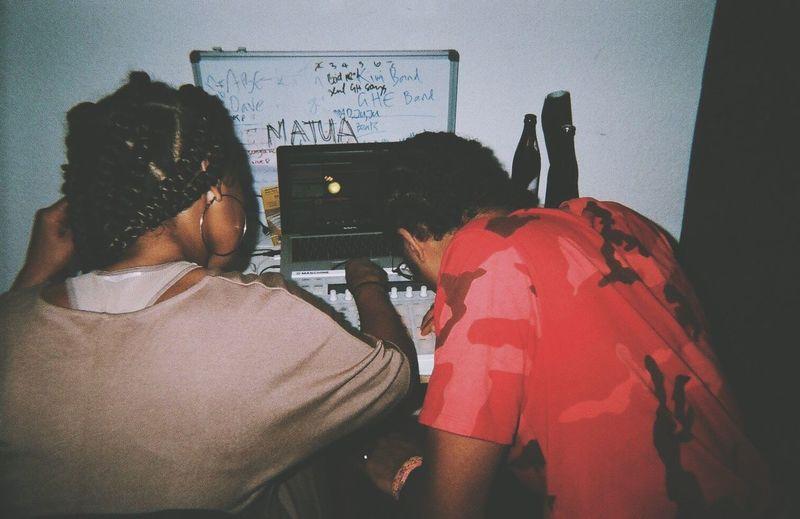 backstage stories. Making Music Video Shoot Vibes Disposablecamera Homies ✌ #FREIHEITBERLIN