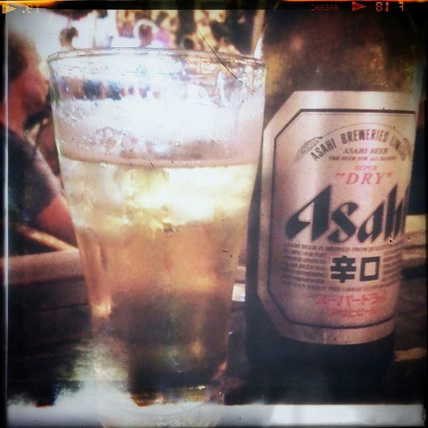 Relaxing I Love Beer Asahi Party Time Party Night Happy Time Taking Photos With My Friend