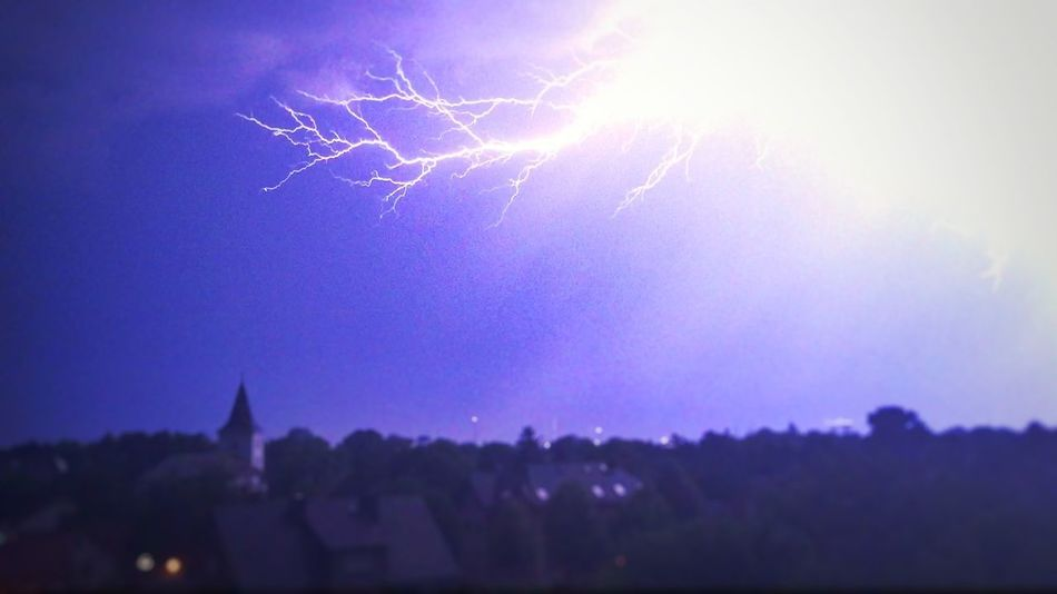 ThunderStorm⚡ Hotsummernight Flash Flashlight EyeEm Nature Lover From My Point Of View Germany Nigth Ligths Evening Sky Landscape_Collection