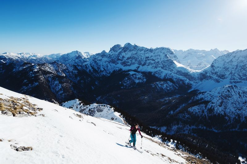 Great skitouring day out in the alps! Snow Mountain Winter Cold Temperature Skiing Ski Holiday Snowcapped Mountain Mountain Range Nature Beauty In Nature Landscape Adventure EyeEmNewHere