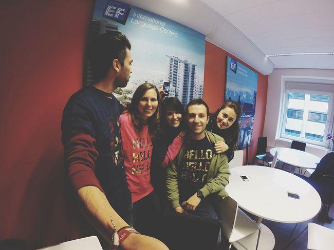Work team ... EF