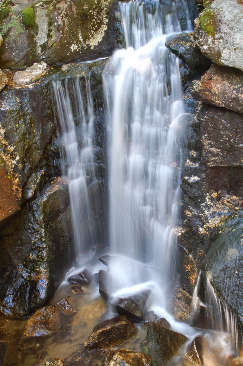 waterfall, motion, long exposure, water, blurred motion, rock - object, scenics, nature, beauty in nature, rapid, no people, outdoors, power in nature, day, freshness