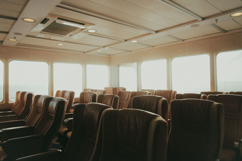 Calm Boat Indoors  Seats Backgrounds Lifestyles EyeEm Of The Week The Week On EyeEm Creative Photography Eye4photography  Best Of EyeEm VSCO Cam No People Shadows & Lights The Week on EyeEm Editors Picks Connected By Travel