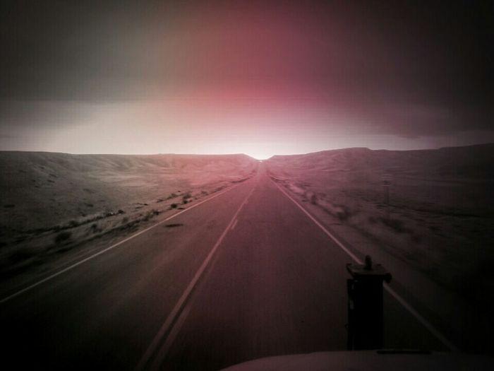 On The Road Eyeem Photos Club🚥⚠🚦 desert highway,