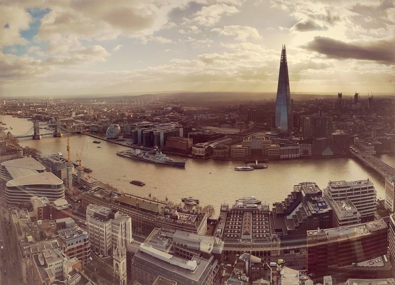 Cityscape Travel Destinations Urban Skyline Sunset Outdoors City Architecture Sky Day No People Politics And Government London LONDON❤ Panoramic