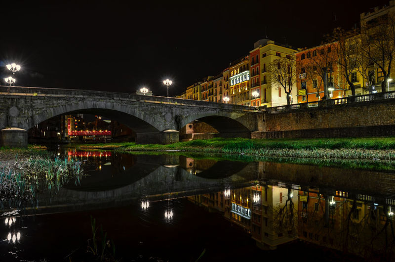 EyeEm Best Shots EyeEm Nature Lover EyeEm Selects EyeEm Gallery EyeEmNewHere Arch Architecture Bridge - Man Made Structure Building Exterior Built Structure City Connection Eye Illuminated Night No People Outdoors Reflection Sky Water Waterfront