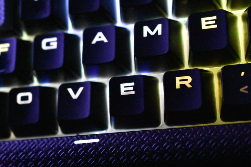Fortnite Gaming Lost Noob PC PUBG You Lose Backgrounds Close-up Computer Computer Game Computer Key Computer Keyboard Computer Part Connection End Fps Game Over Gamer Keyboard Loser Lost Game No People Shooting Technology
