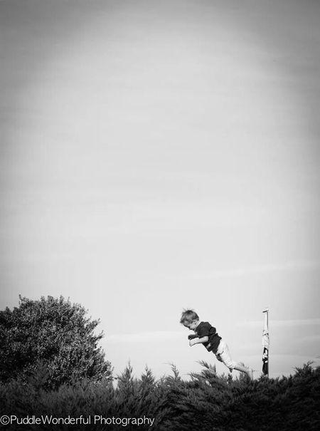 Flying PuddleWonderful Photography Blackandwhite Fun