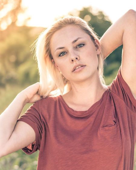 Wonderful looks Beautiful Woman Blond Hair Close-up Day Front View Headshot Looking At Camera Nature One Person Portrait Portrait Of A Woman Portrait Photography Portraits Sellmypics Standing Young Adult Young Women