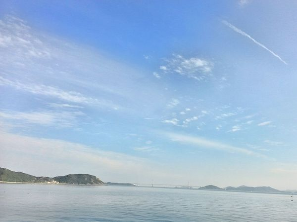 Sky Sea Beauty In Nature Horizon Over Water