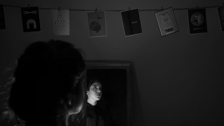 < 2 > IMPUNITY Guadalajara Light Mirror Adult Adults Only Blackandwhite Contrast Day Headshot Impunidad Impunity Indoors  Justice Lowkey  Mexican One Person One Woman Only People Real People Shadow Women Young Adult