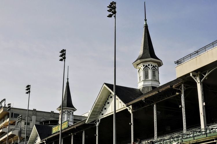 Sky Architecture Travel Destinations Kentucky  Churchill Downs KentuckyDerby Kentucky Derby Louisville Horse Racing Twin Spires