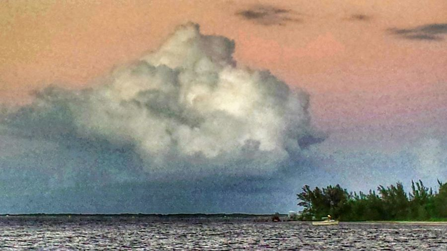Evening Walk at the Indian River Lagoon Calm Water Spoil Islands Hanging Out Enjoying Life