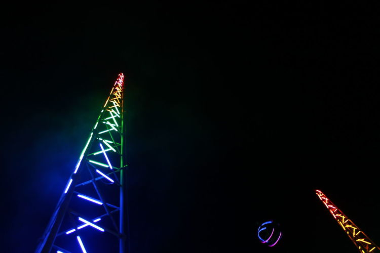 Sling Shot Ayia Napa Copy Space Illuminated Neon Night No People Outdoors Road Sign Sling Shot Slingshot Mix Yourself A Good Time The Week On EyeEm Gridlove HUAWEI Photo Award: After Dark #urbanana: The Urban Playground