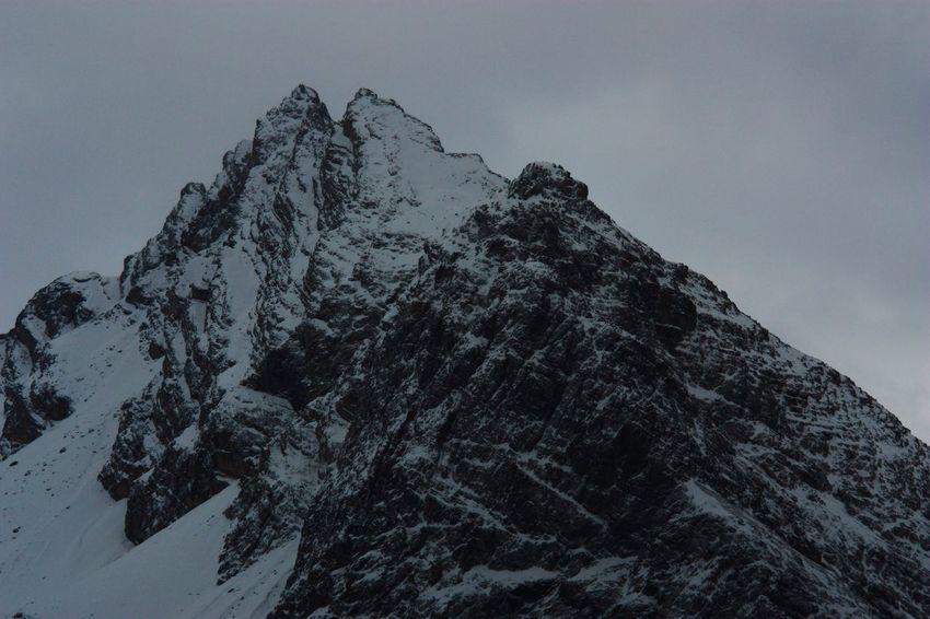 Mountain Winter Nature Swissalps Engadin Ftan