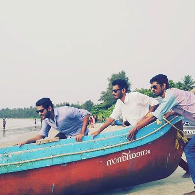 Off we go....to the ocean :-P PushHarder Randompose Mi4i Pic_@saj_eer
