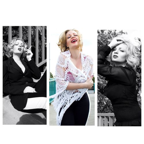 Like Marilyn.... Model Modelgirl Monikaherman Hermanmonika Blonde Marilyn Monroe Marilynmonroe