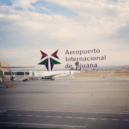 Getting back Trip Mexico Tijuana Airport tired home instapic