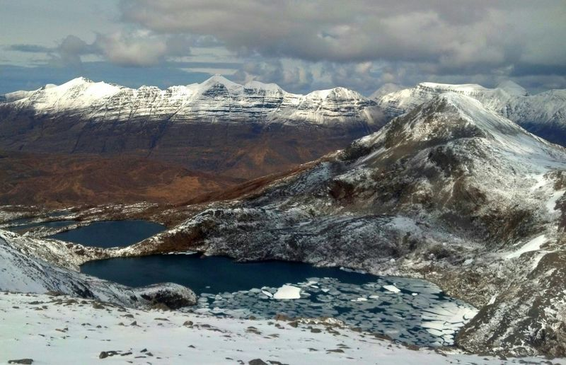 Mountain_collection Scottish Highlands Snow Ice Nature_perfection Hillwalking Mountain Hiking Stunning View Traversing