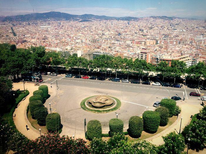 Barcelona Plaza City View