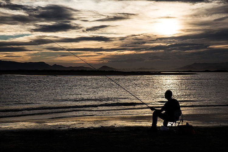 다대포 해수욕장 Sea View Fishing