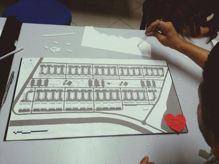 Weslley, Jader e eu Arquitecture Maquete Urbanismo Friends